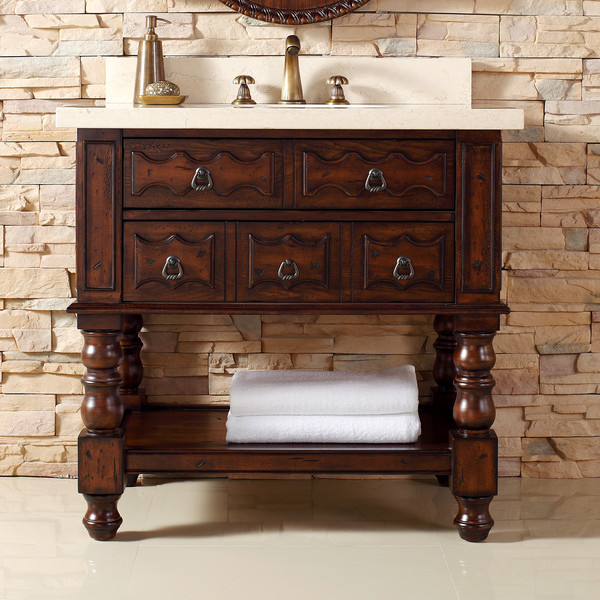 "James Martin Furniture 36"" Castilian Bathroom Vanity"