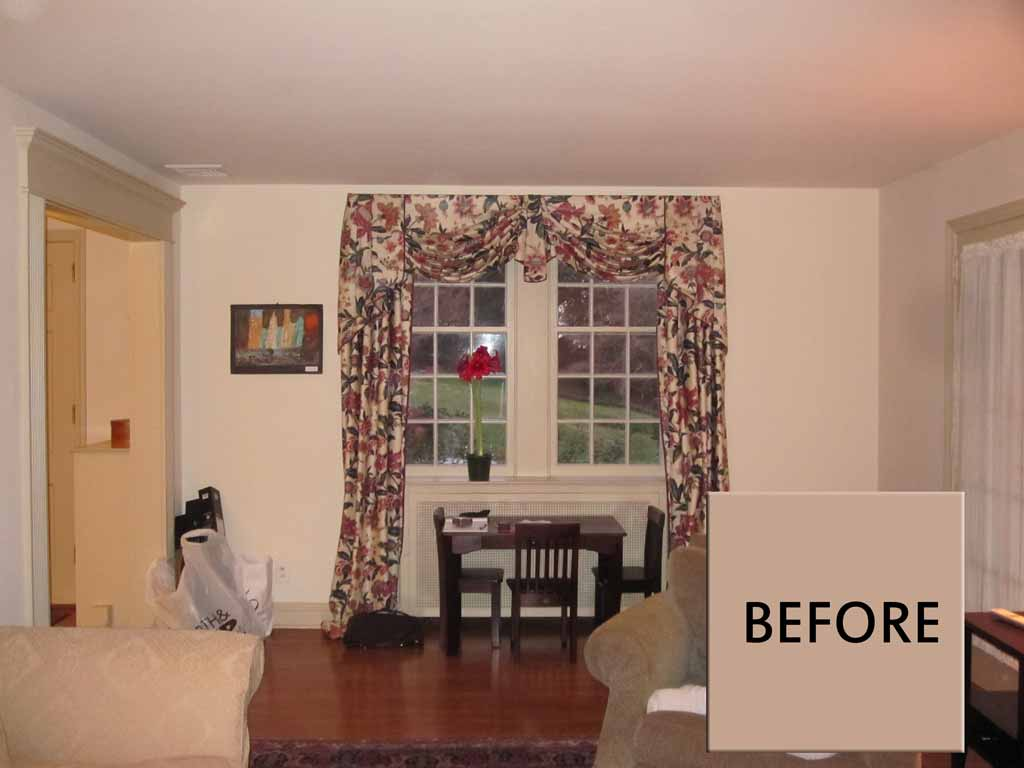 Living Room Design- Before