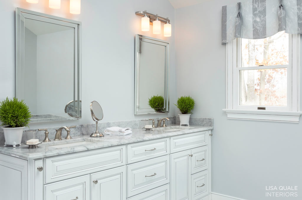 Award Winning Bathroom Remodeling Project Lisa Quale Interiors - Bathroom remodel wilmington de