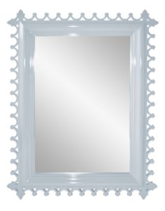 Add some oomph to your bathroom with the Newport Mirror from Oomph available in 16 lacquer shades.