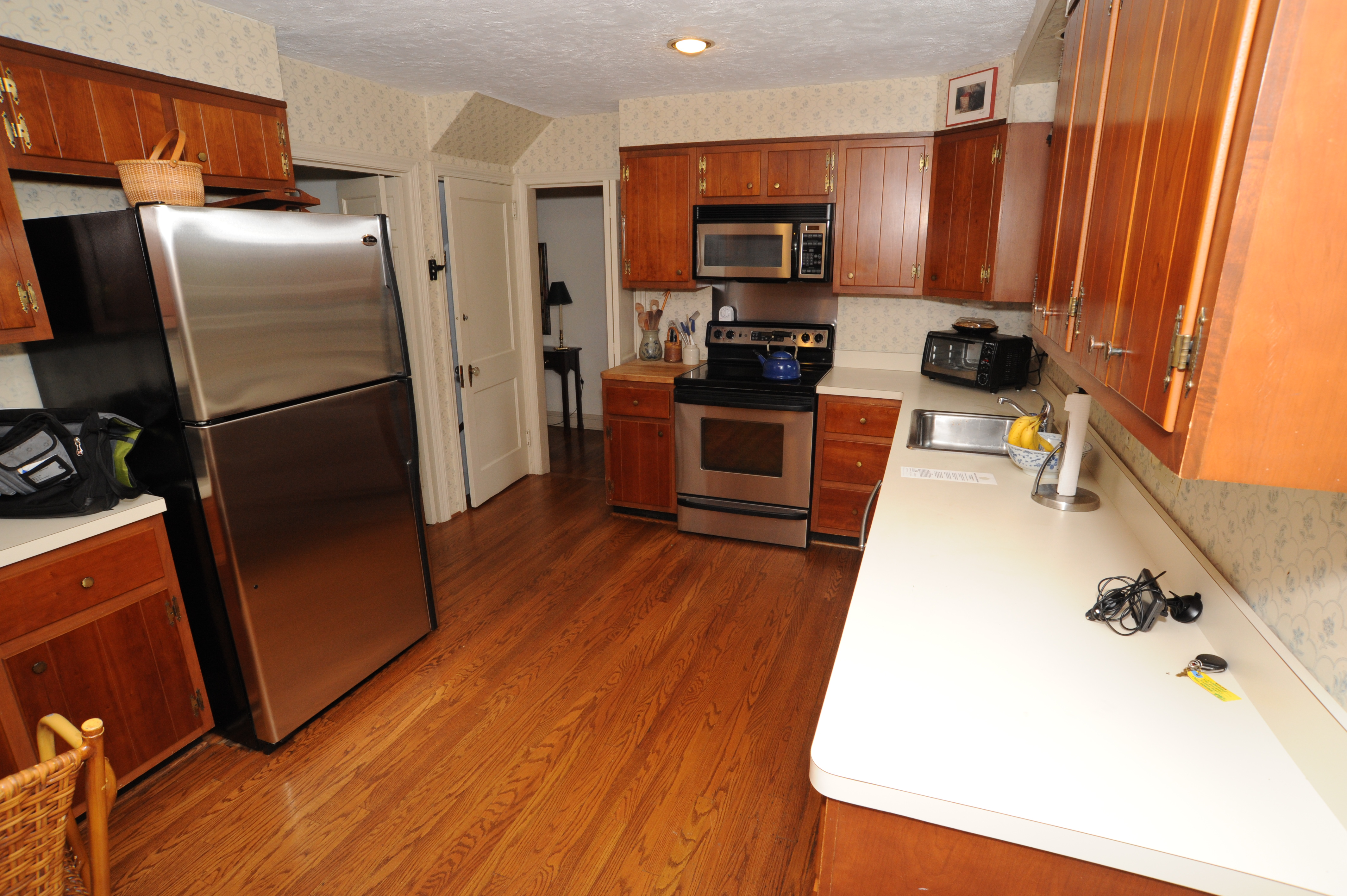before after kitchen remodel in delaware county