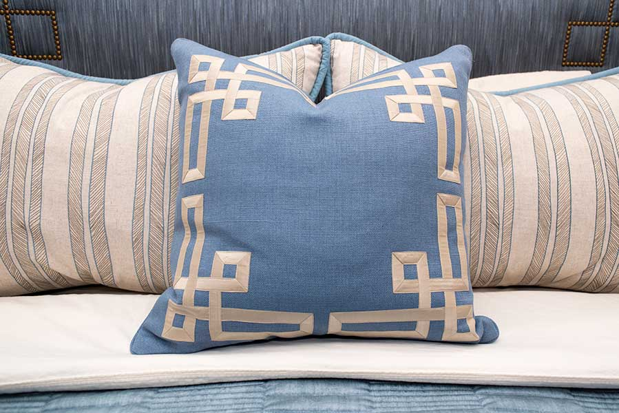 Interior Decorating Pillow Detail