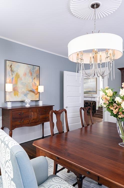 Interior Designer Ardmore PA Dining Room